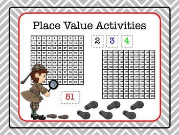 free place value activities mr elementary math a summer. Black Bedroom Furniture Sets. Home Design Ideas
