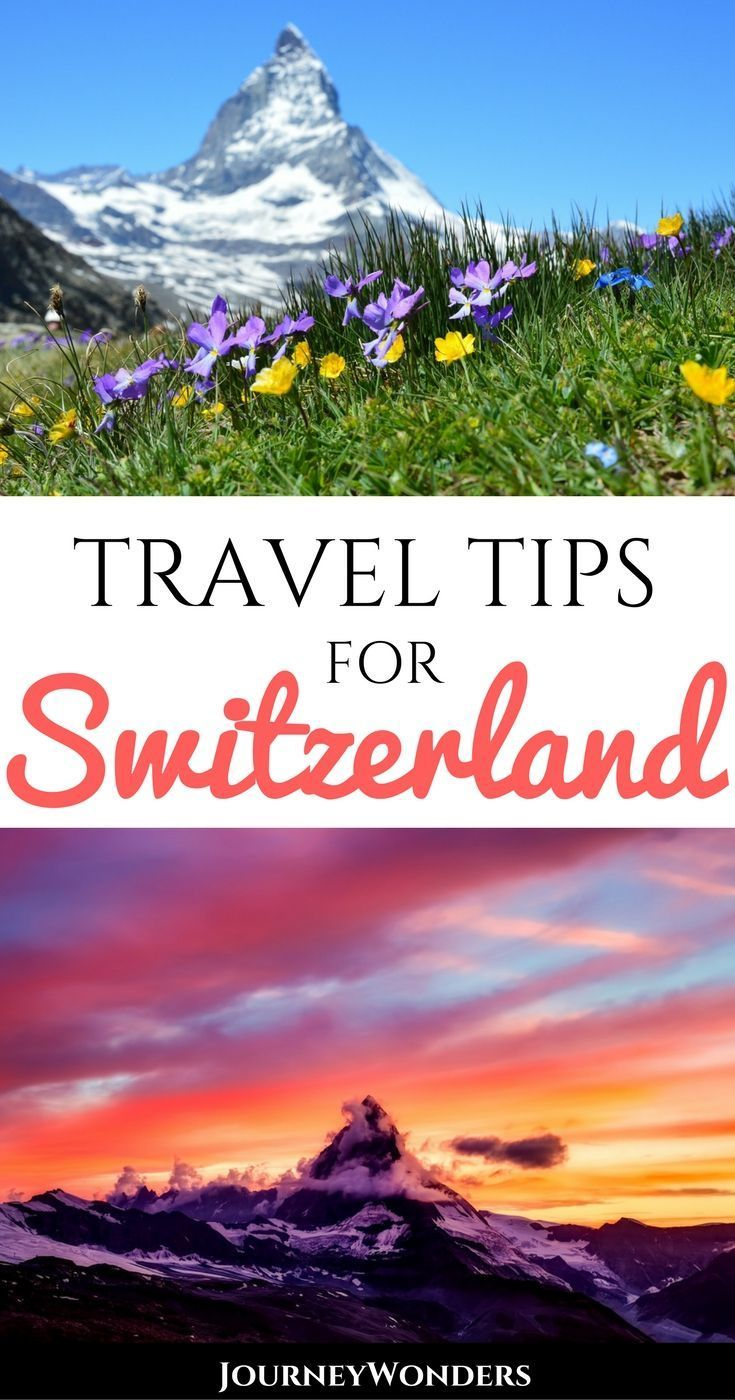 How to save money in switzerland and explore the alps