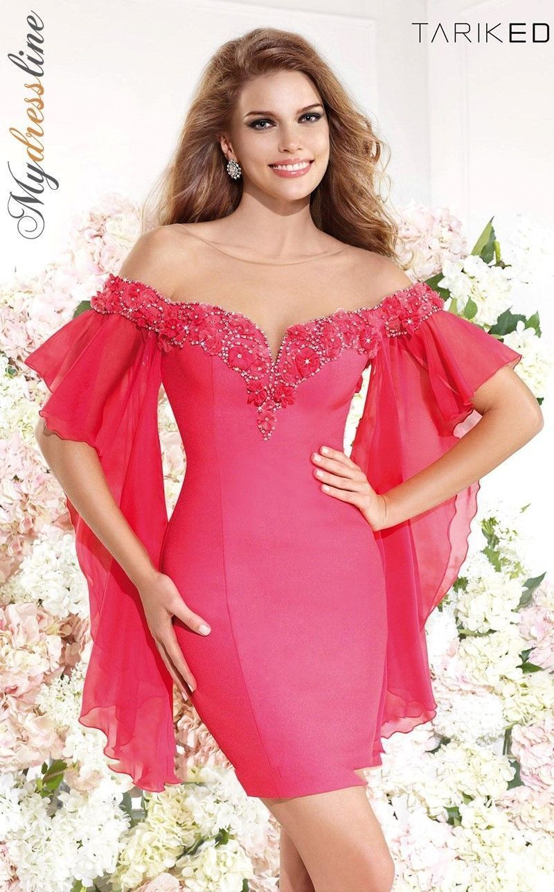 Tarik Ediz 92185 Short Cocktail Dress ~LOWEST PRICE GUARANTEED~ NEW ...