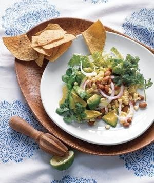 Ingredients  2 small heads romaine lettuce, cut into bite-size pieces (about 12…