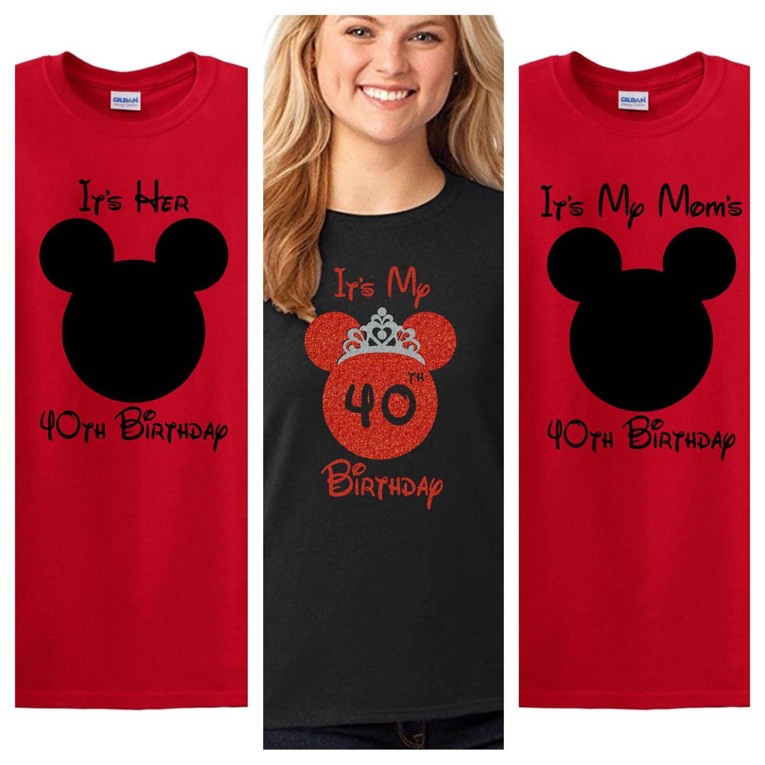 Disney Family Birthday Shirts Custom Mickey