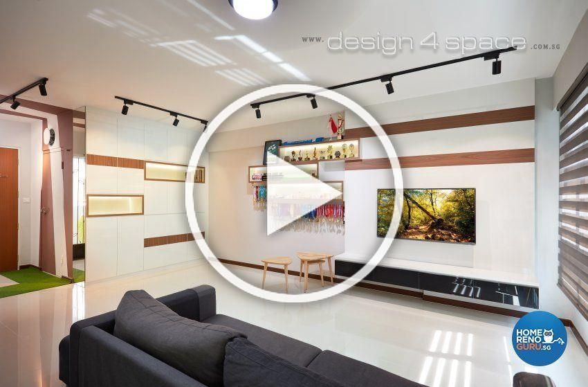 Design 4 Space Pte Ltd Hdb 4 Room 676c Yishun Ring Road 4464 Singapore Interior Design Gallery Homerenoguru In 2020 Room Decor Bedroom Entryway Decor Home Decor