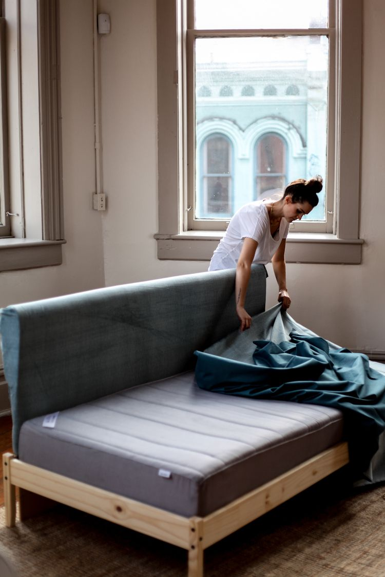 Diy Ikea Hacks 5 Easy Steps To Make Your Own Ikea Couch Diy Pinterest Couch Mobel And Ikea