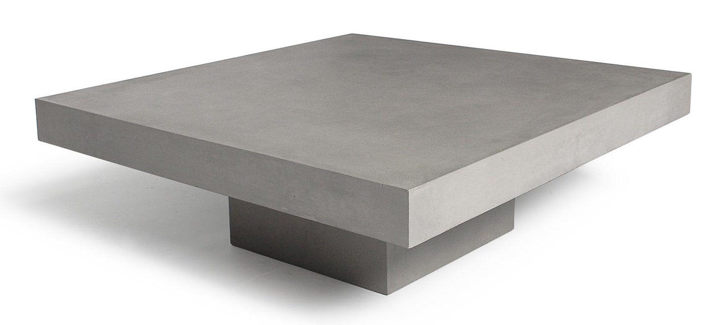 Lyon Beton T Coffee Table Reviews Wayfair Concrete Coffee Table Coffee Table T Shaped Coffee Table