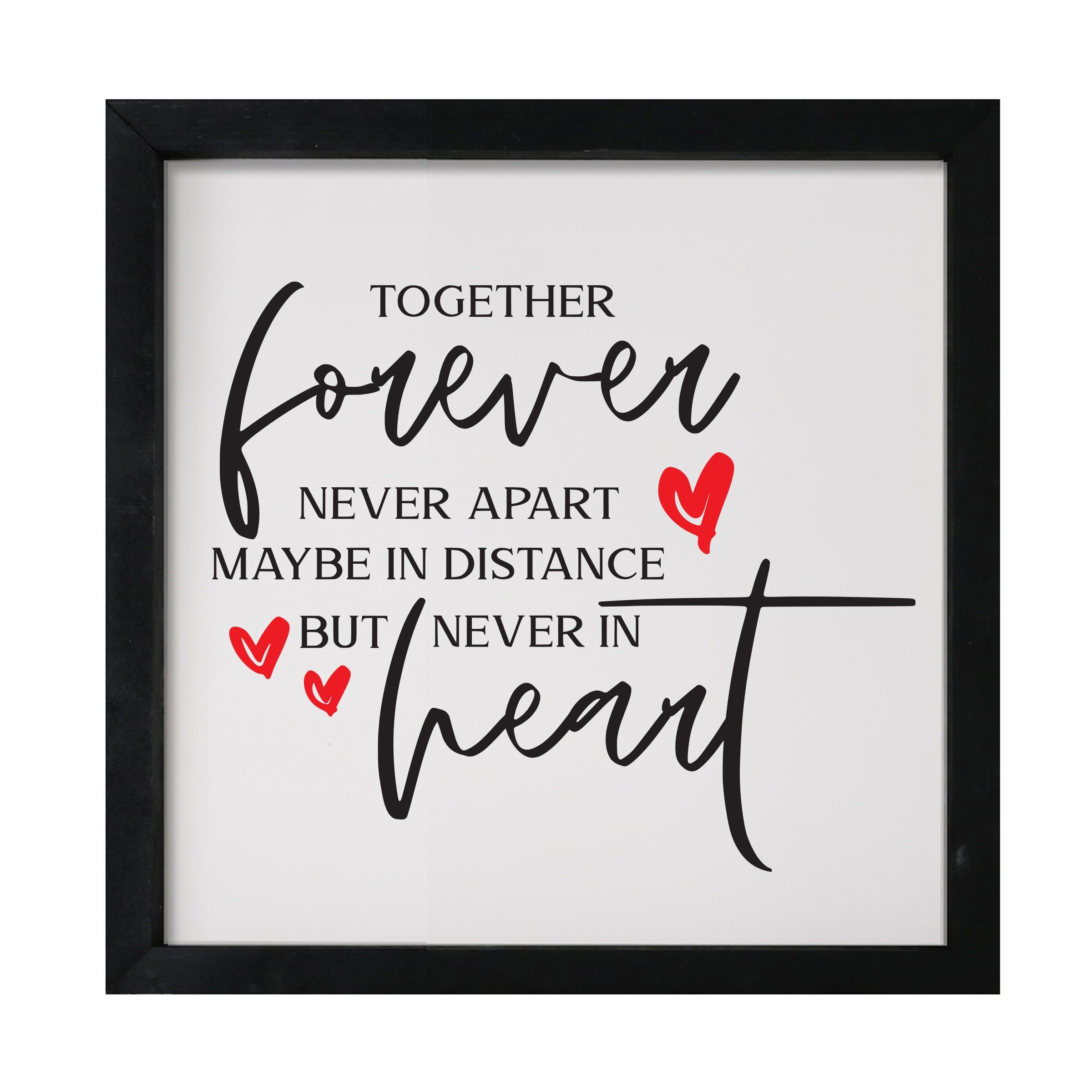 Wedding Gifts for Couple | Bedroom Wall Decor Over the Bed | Romantic Love Shadow Box | Mr and Mrs Wall Decor | Cute Love Decor for Bedroom