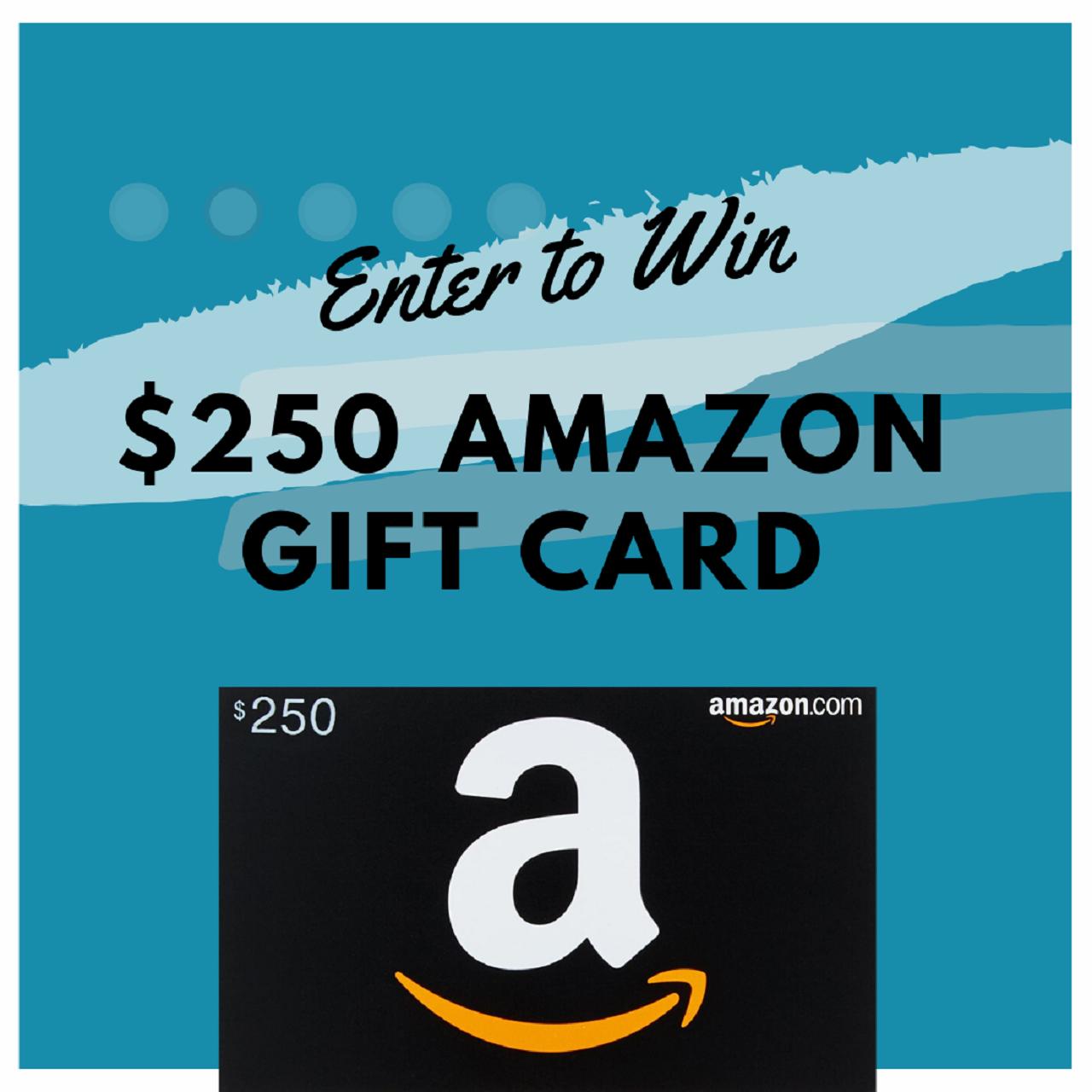 250 Amazon Gift Card Giveaway Amazon Gift Card Free Amazon Gift Cards Amazon Gifts