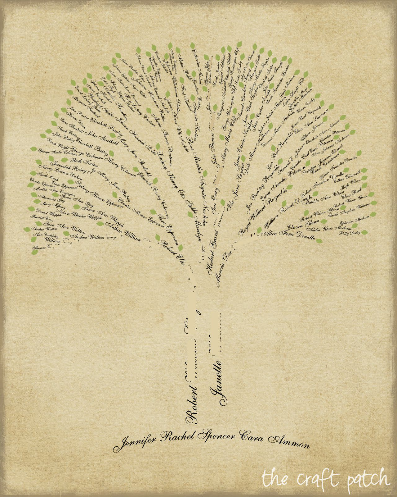 12 Family Tree Ideas You Can DIY, Even If You Didn\'t Get the ...