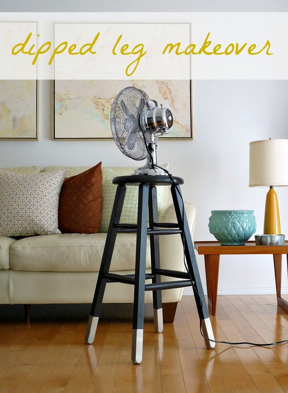 Dans le lakehouse pinterest challenge dipped leg stool