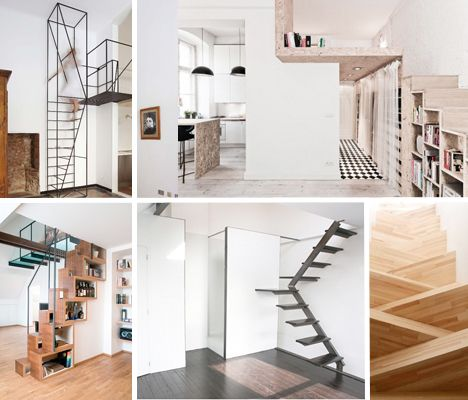 Steps To Saving Space Compact Stair Designs For Lofts - Compact stairs