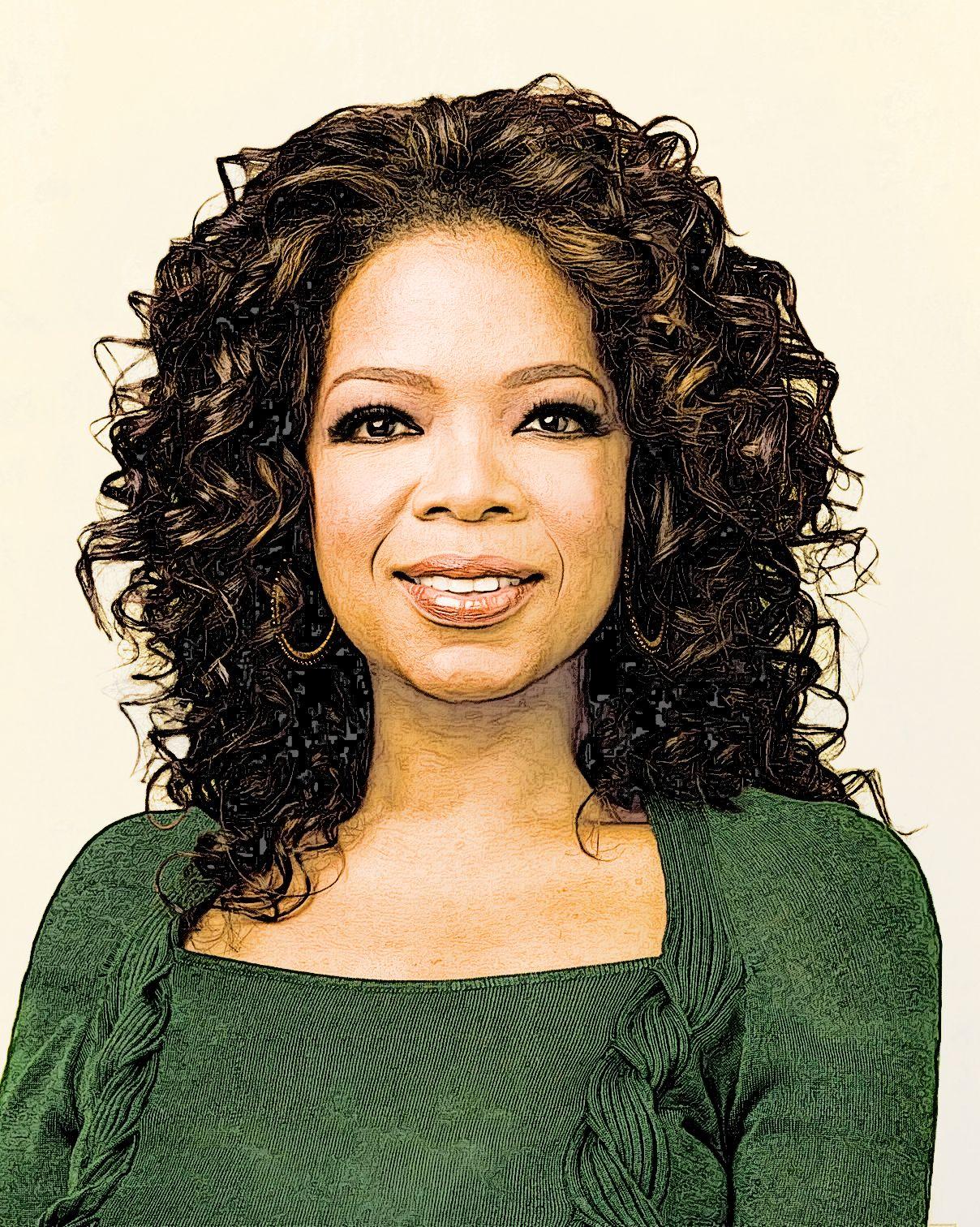 Oprah Oprah Tribute Photoshop Sketch Action Oprah S