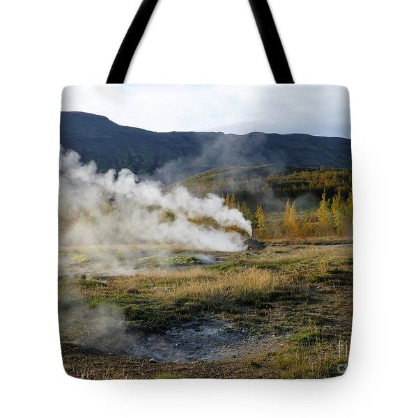Icelandic Fall Scenery With Thermal Features by Barbie Corbett-Newmin #fallscenery