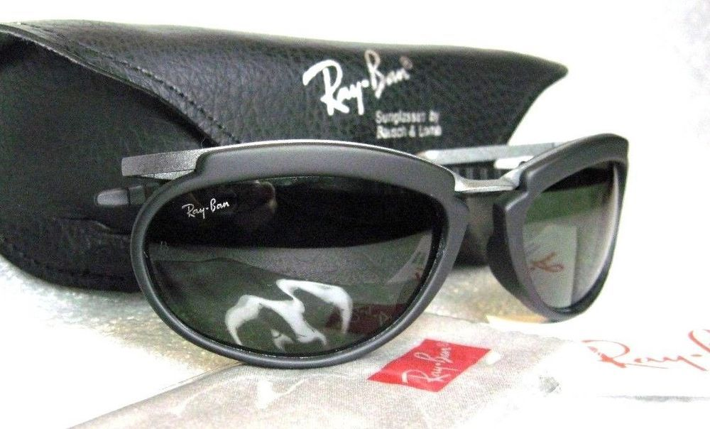 bb5bc738c59 ... netherlands new vintage ray ban bl rare orbs inert g 15 outrageousnos  sunglassescase 38c83 67e32 ...