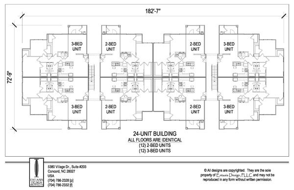Apartment 8 Units Building Plan Apartment Building How To Plan