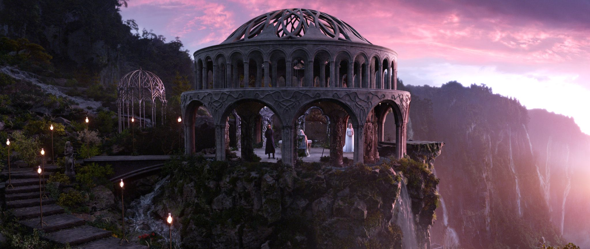 lord of the rings rivendell architecture the hobbit an