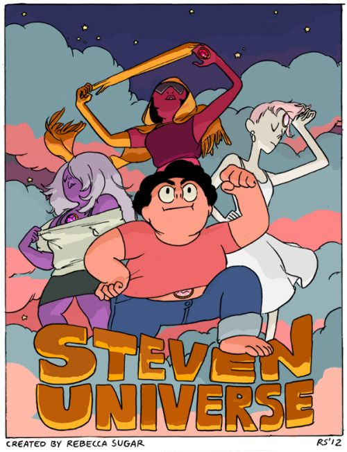 Steven Universe Poster This Poster Was Drawn Before The Pilot Episode Was Even Finished Steven Universe Poster Steven Universe Pilot Steven Universe Fanart