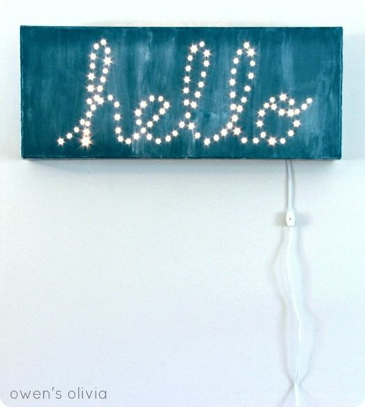"""DIY Wall Art 