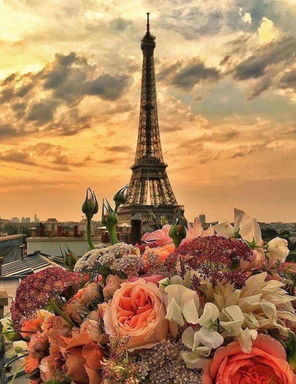 красивые картинки парижа днем рождения после