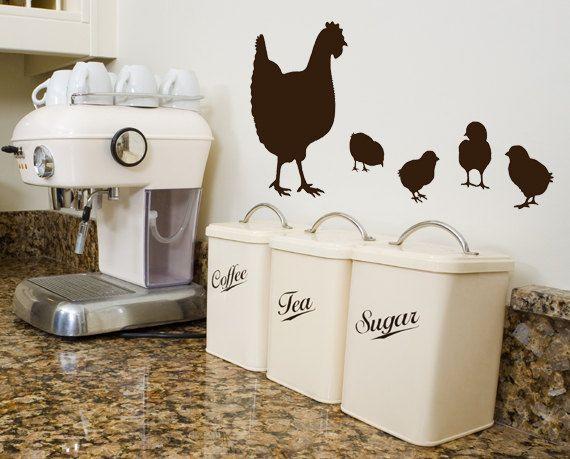 Chicken decor  Diy kitchen decor, Chicken kitchen decor, Hens and