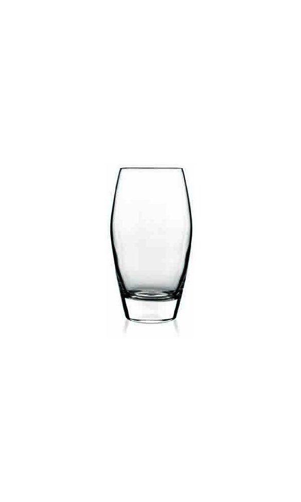 A glass of goo