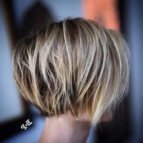 50 Mind-Blowing Simple Short Hairstyles for Fine Hair 2019 - Travel Yourself #bobhairstylesforfinehair #finehair