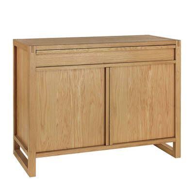 Oslo Home Antler Solid Oak Narrow Sideboard U0026 Reviews | Temple U0026 Webster