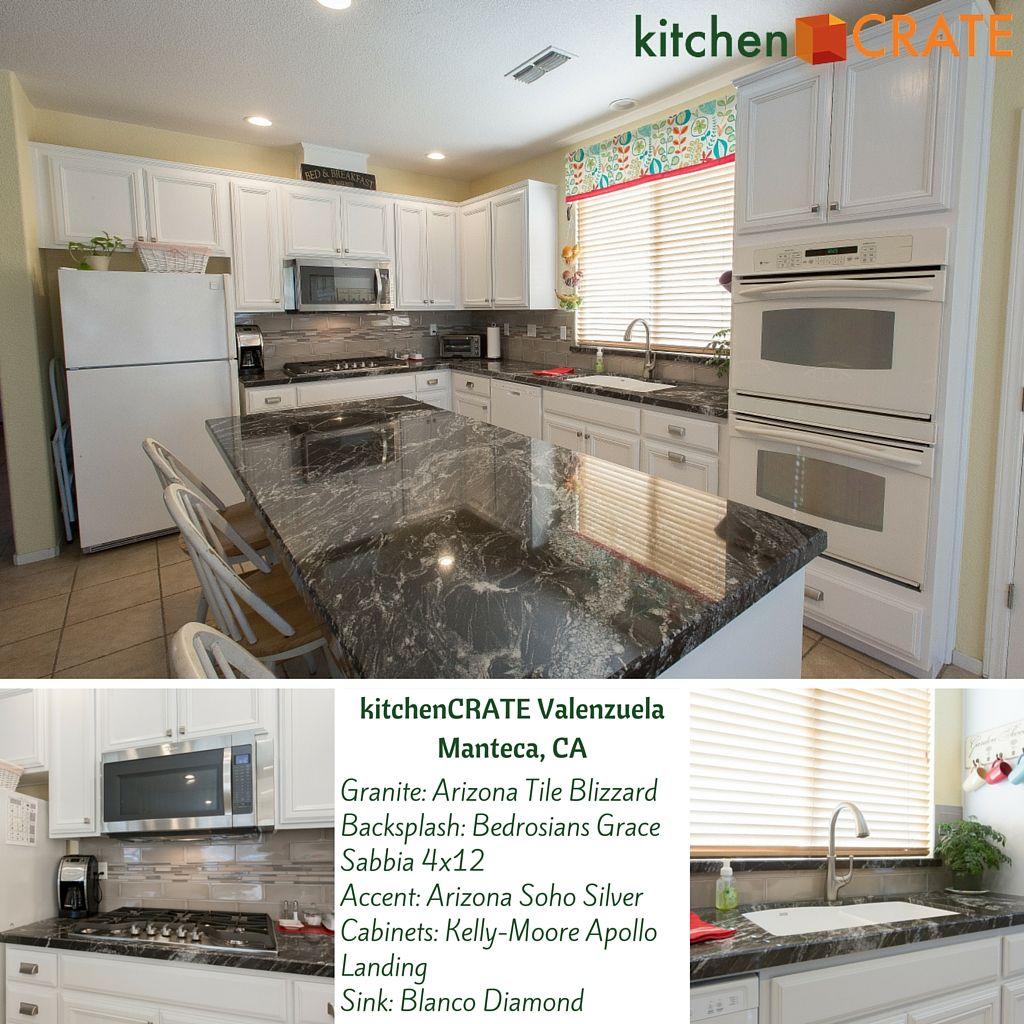 Manteca Kitchen Remodel Kitchencrate Valenzuela Court Complete