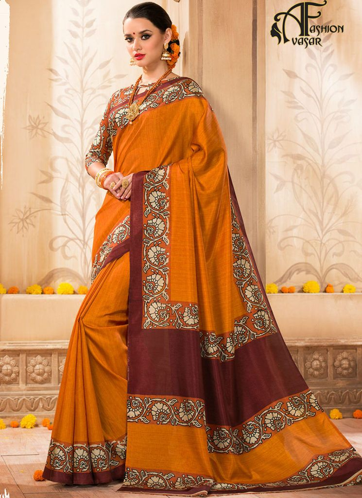Designer Silk Sarees For Wedding Reception With Price Silk