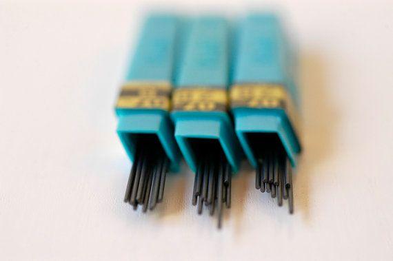 vintage pencil lead refils / mechanical pencil spare by BOULOTDODO