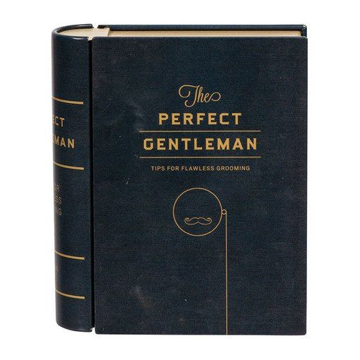 Pocket Folio Perfect Gentleman Grooming Kit by The Literary Gift Company