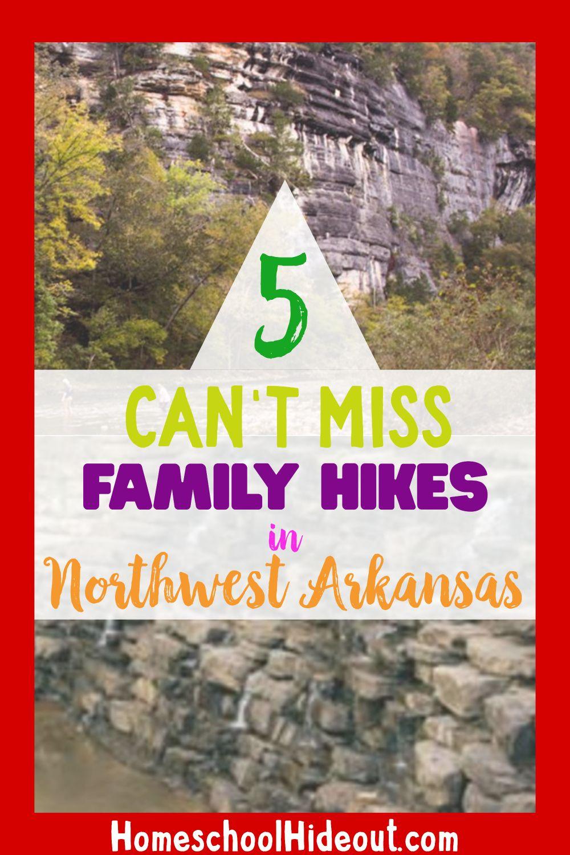 Family Hikes in Northwest Arkansas Homeschool