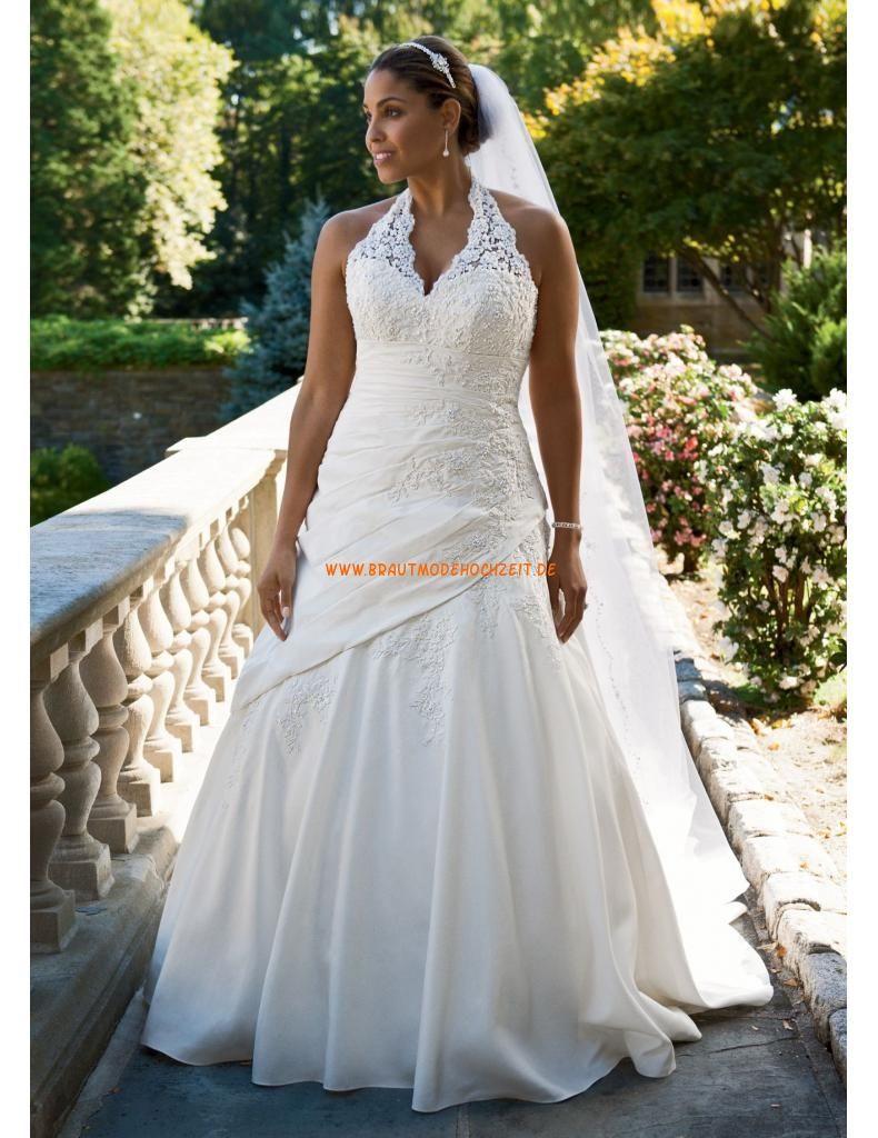 Billiges Brautkleider 2014 aus Satin mit Spitze   Hochzeit ...