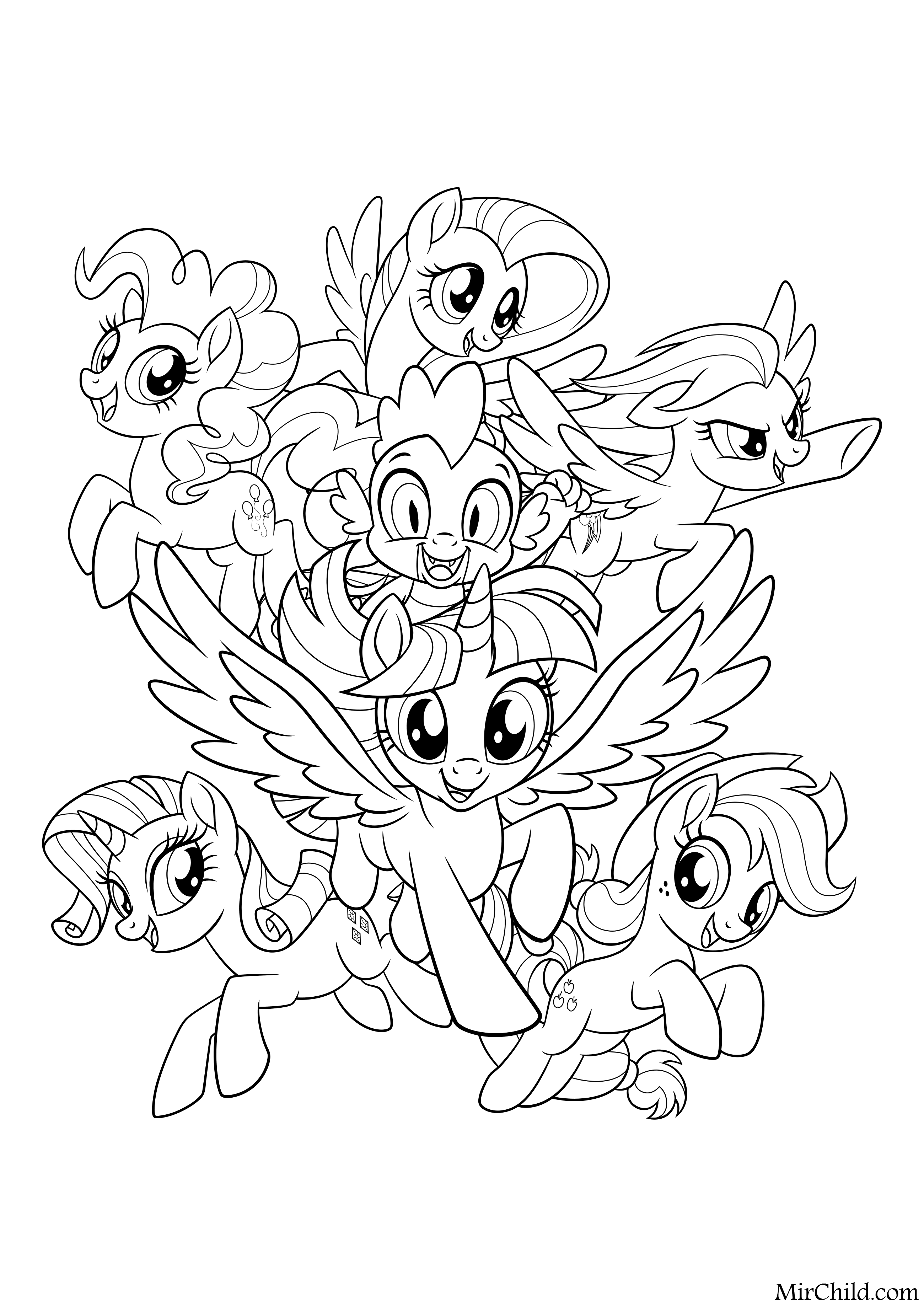 Pin By Crystal Zborek On Coloring Picture My Little Pony Coloring My Little Pony Drawing Mermaid Coloring Pages