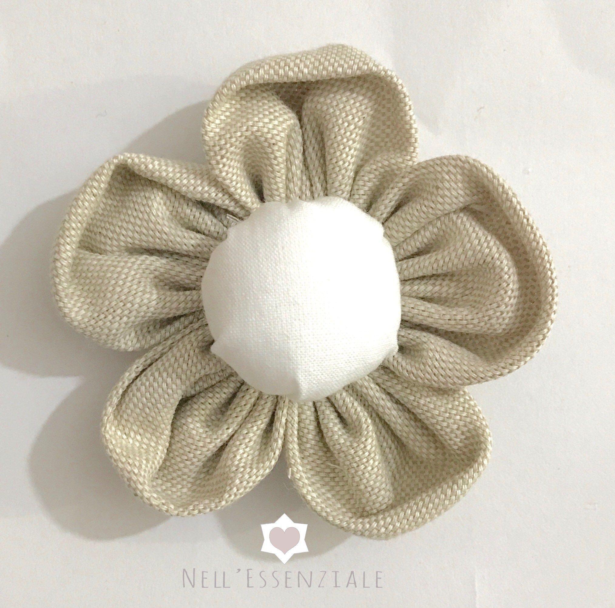 come fare i fiori di stoffa shabby: tutorial