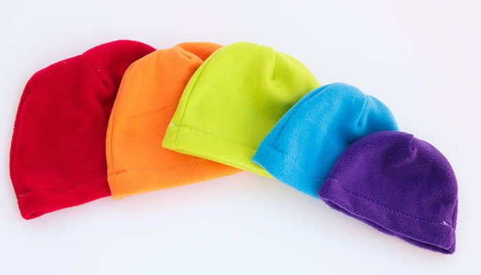 An index of all the free fleece hat patterns and tutorials available on Fleece  Fun. Free pdf patterns with video tutorials to walk you through it! 0b32c544ea7