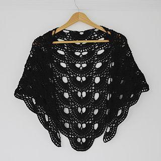 Virus shawl / Virustuch by Julia Marquardt