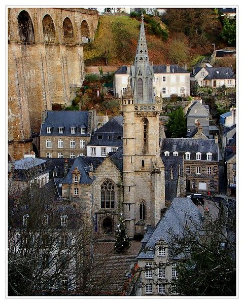 The church Saint-Melaine, Morlaix, Bretagne, France Copyright: Jean Charles GUEGAN