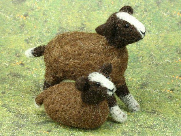 Zwartbless Schafe Ewe Amy Alf Schafe Schafrassen Filztiere