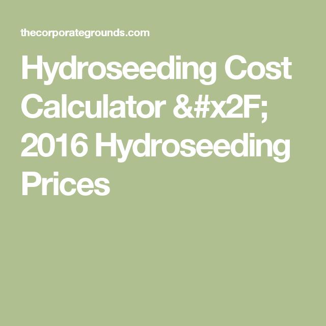 Hydroseeding Cost Calculator X2f 2016 Hydroseeding Prices Sod Cost Cost Army Truck