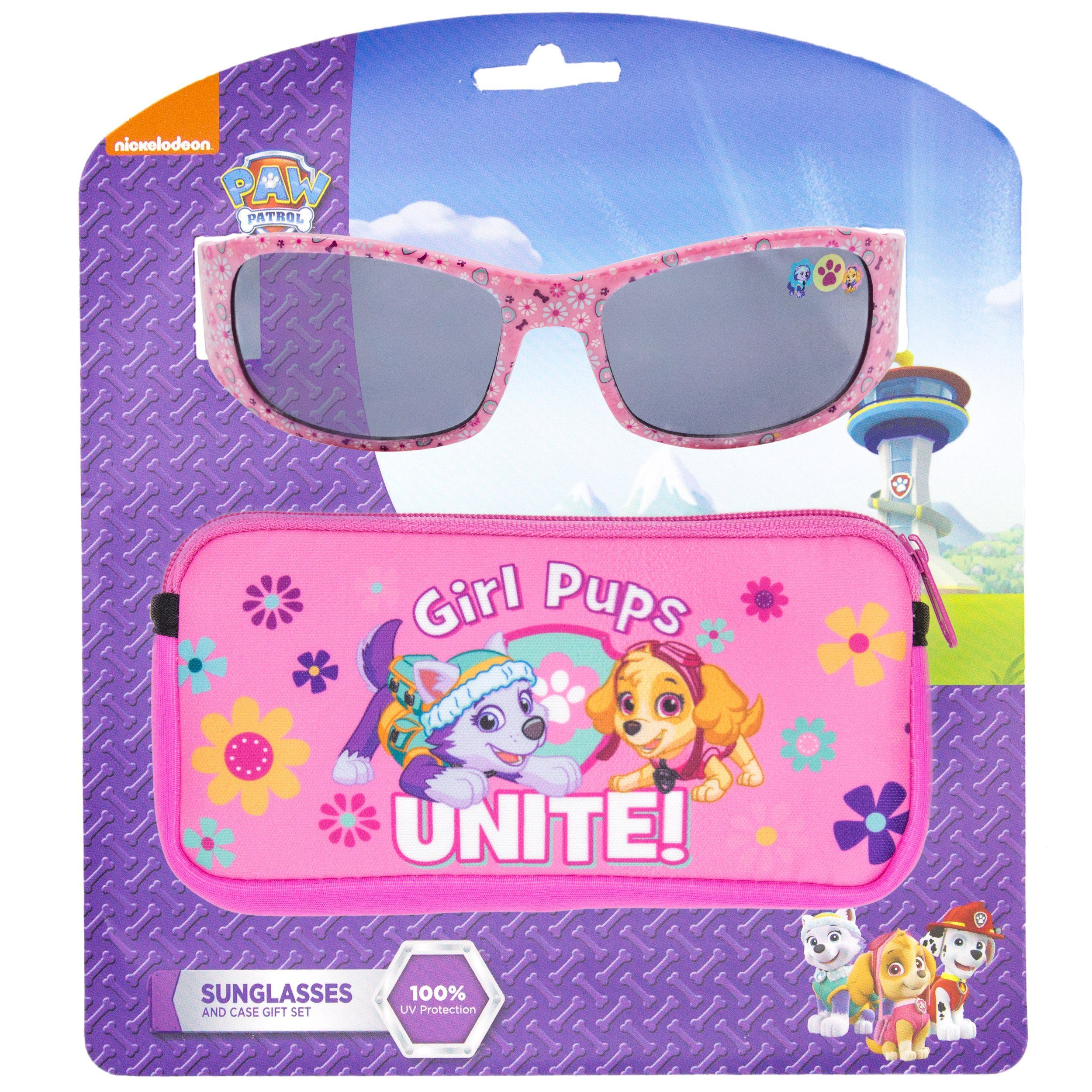 c4928218b2 Nickelodeon Paw Patrol Kids Children Girls Sunglasses with Soft Carrying  Case. Nickelodeon Paw Patrol Girls