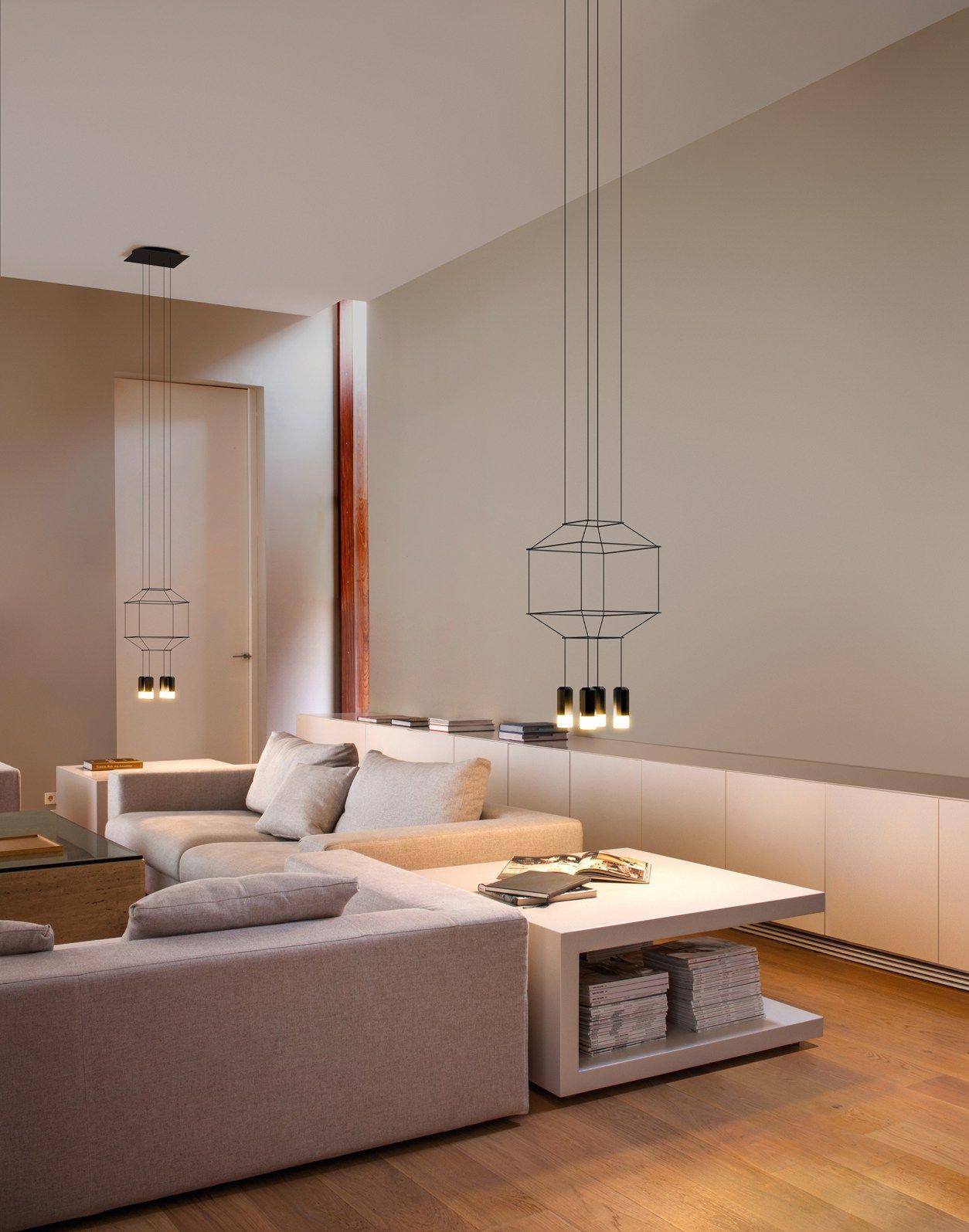 Punto luce minimal o scultura geometrica? Illuminare la zona living ...