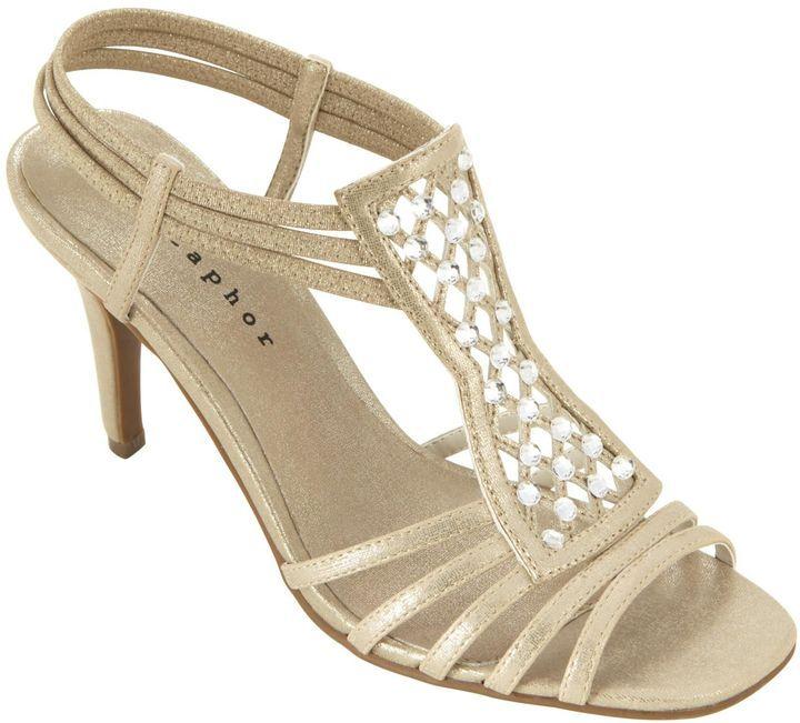Pewter Heels For Wedding: Metaphor Women's Dress Sandal Ramona