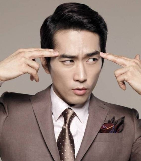 Professional Side Part Work Hairstyles For Asian Men Song Seung