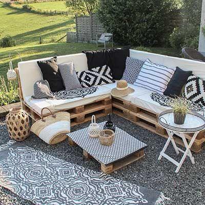 50 schöne Beispiele und Vorschläge für die Terrassendekoration – Evde Mimar