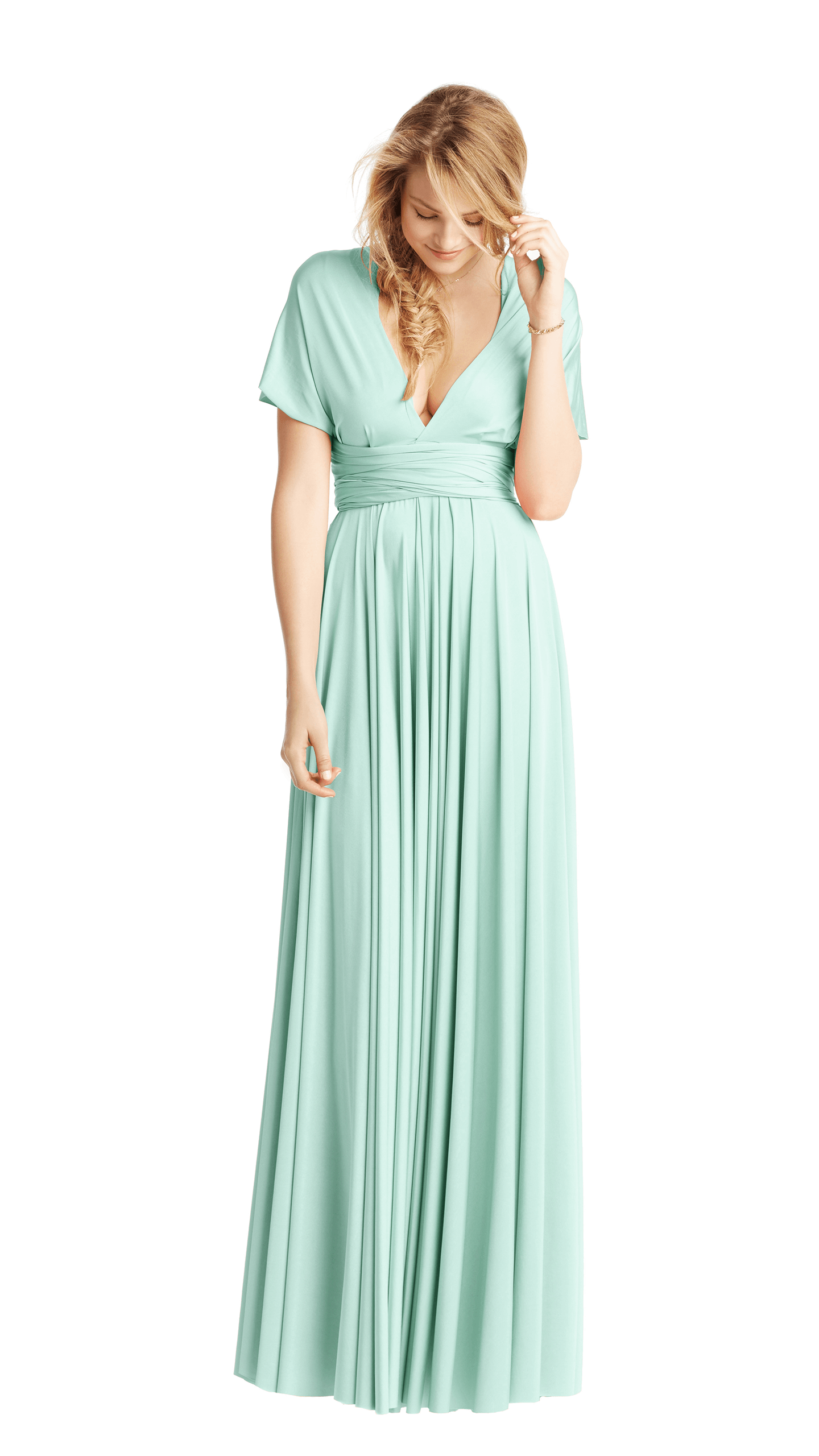 Our multiway floor length bridesmaid dress can be twisted and tied our multiway floor length bridesmaid dress can be twisted and tied in endless different ways ombrellifo Images