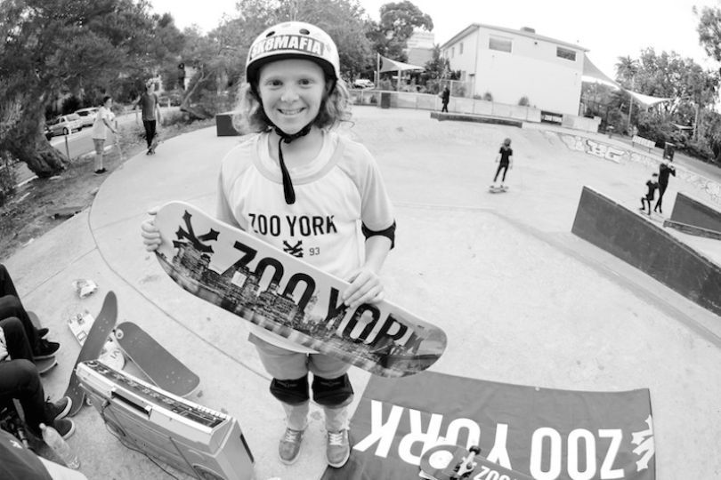 Sophia Rothfield only picked up a board at the age of ten and is now signed and sponsored.