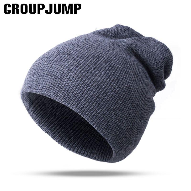 0bf09b51fbd Click to Buy    2017 Fashion Knitted Winter Hats Women Skullies Beanies  Thick Warm Men Beanies Unisex Knit Winter Hats Female Male Cap balaclava   Affiliate