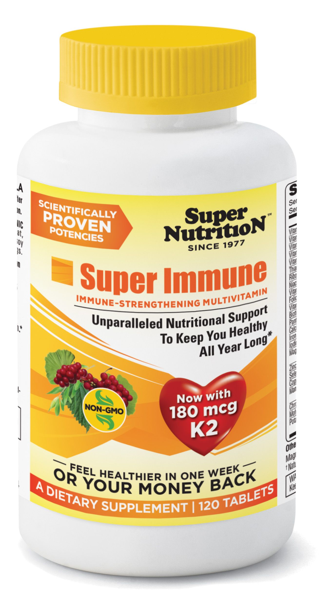 SuperNutrition Super Immune. 25 immune supporting