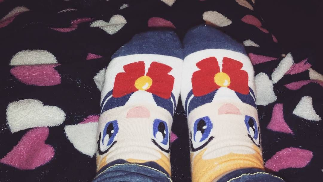 Mis Calcetines De Sailor Moon Son Lo Mejor Havelover Havecollection Socks Sockswag Sailormoon Thepowerofthemoon Serenatsukino By Nene Snmartin