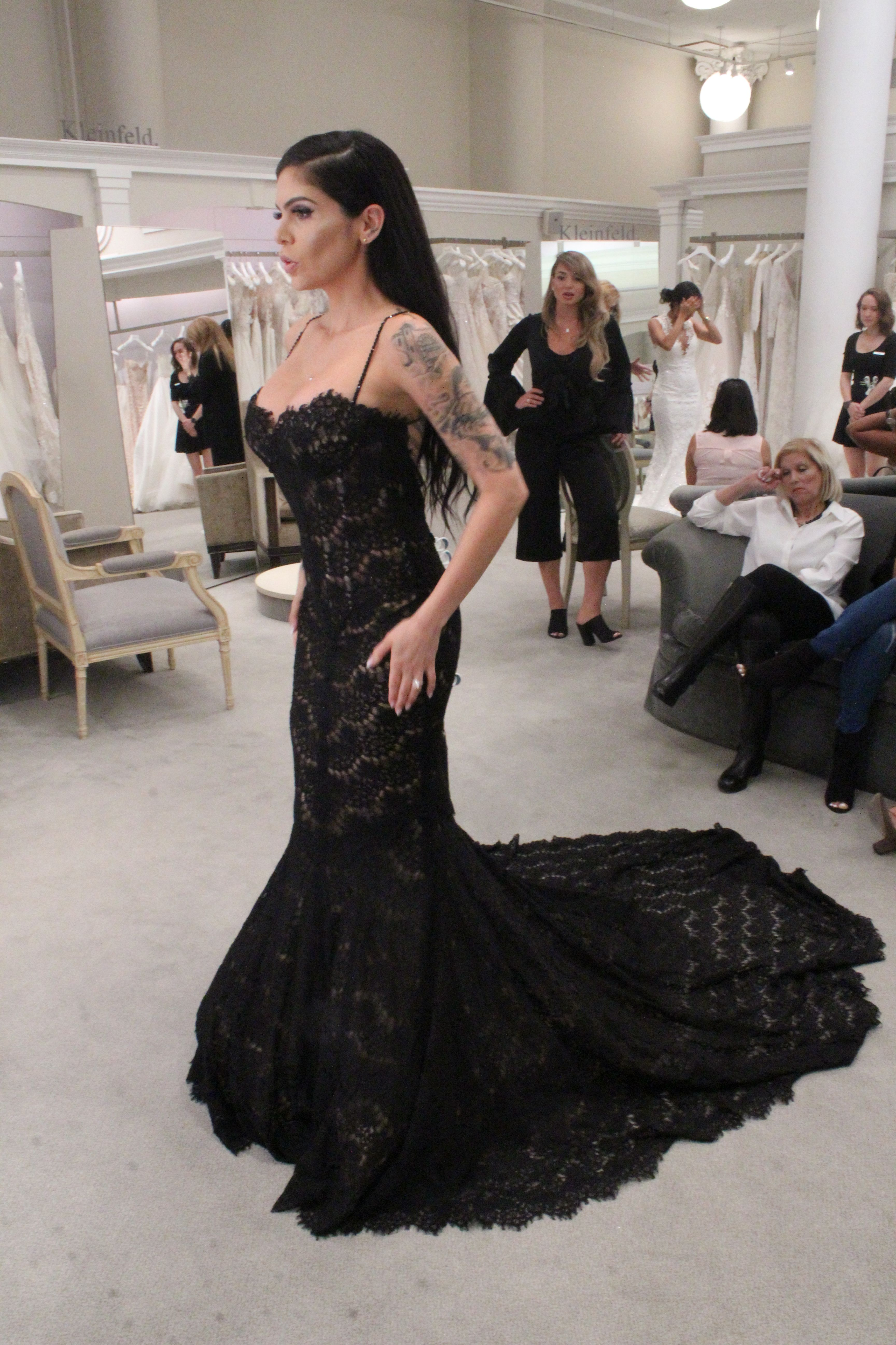 Tlc Official Site Black Wedding Gowns Gothic Wedding Dress Black Wedding Dresses