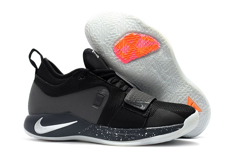 92ddaca7e8363a Attractive fabricated basketball shoes continue reading this. Nike PG 2.5  Black Pure Platinum-Anthracite BQ8453-004